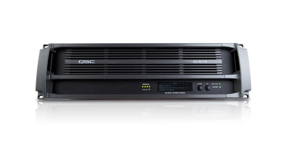 QSC Q-Sys Core 3000